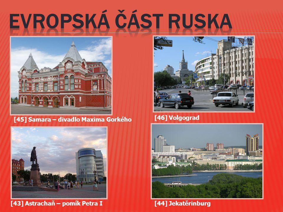 EVROPSKá část RUSKa [46] Volgograd